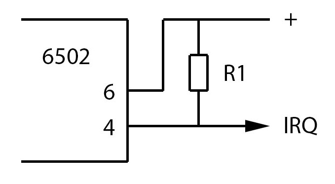 Interrupt 6502 irq nmi